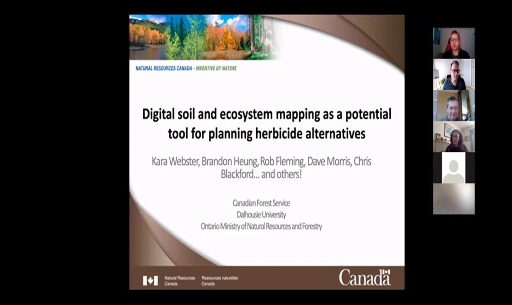 January 2021 - Digital soil and ecosystem mapping